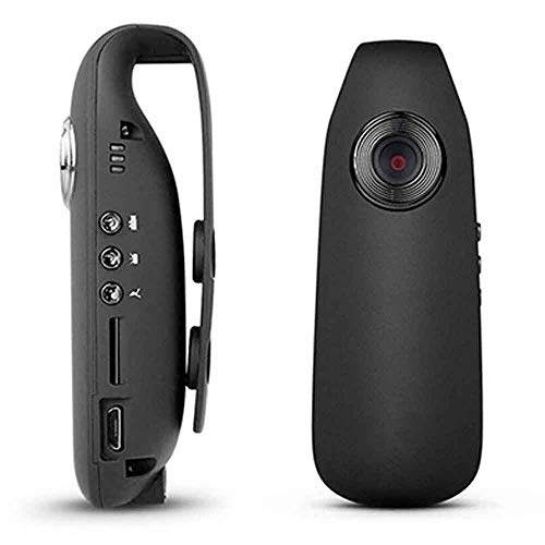 Mini cámara, cámara espía de alta definición, cámara de vídeo oculta, metal portátil, cámara de deportes magnética DV, cámara de seguridad en casa