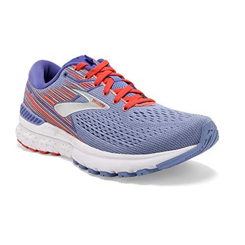 Brooks Adrenaline GTS 19, Zapatillas de Running para Mujer, Azul (Bel Air Blue/Coral/Silver 467), 37.5 EU