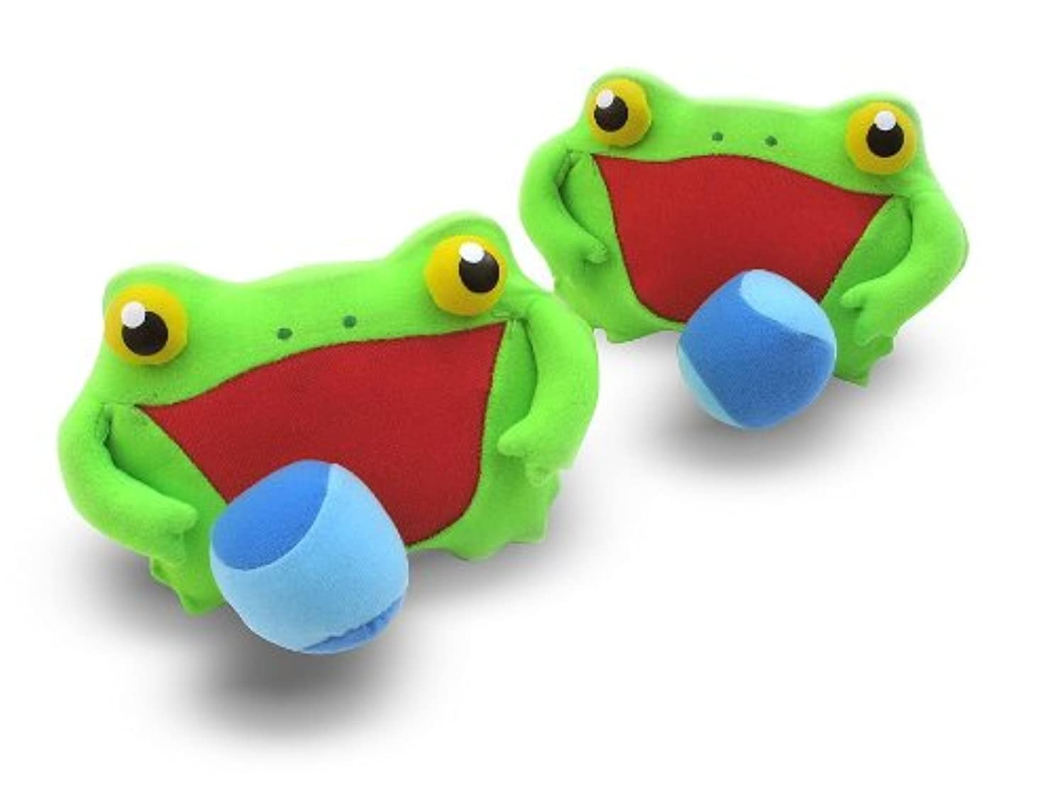 Melissa & Doug Sunny Patch Froggy Toss and Grip Catching Game With 2 Balls lpsnssknvbh20