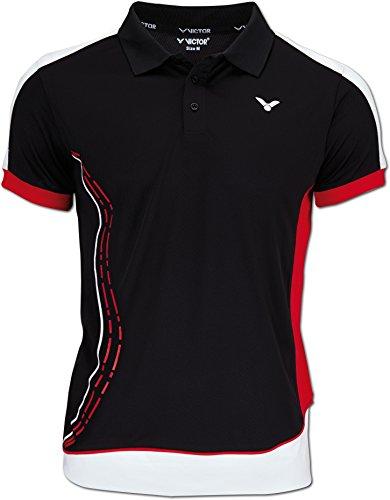 Preisvergleich Produktbild VICTOR Herren Polo Shirt Function,  Black