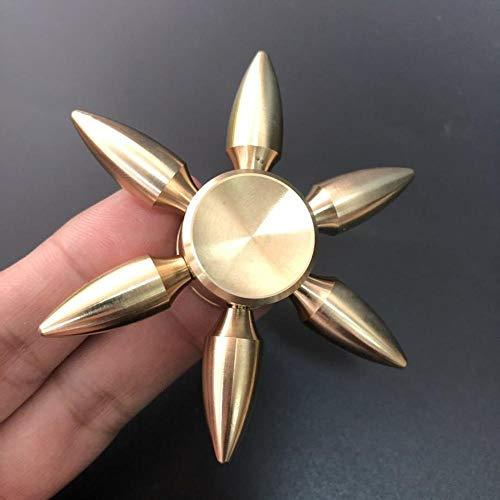 Meijin Spinning Top Gadget Spinner metal dedo juguete giratorio para niños alivio del estrés niños Spinning Top (Color: 1)
