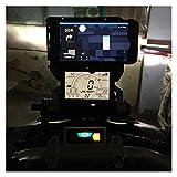Xuefeng 22mm y 12 mm Motorbike Soporte de teléfono móvil Smartphone Soporte de GPS Soporte de Soporte para Honda X-ADV 750 2017-2019 (Color : Phone Stand Fixed)