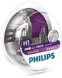 Philips 12258VPS2 VisionPlus - Bombillas H1 para...