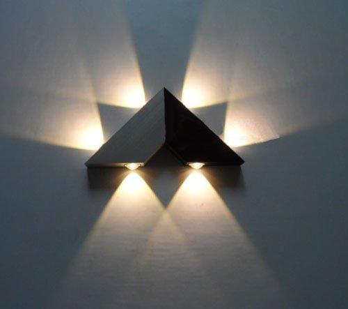 LUMINTURS 6W Dimmable LED Wall Sconce Light Fixture Bulb Modern Lamp High Power
