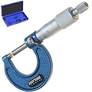 """Anytime Tools Micrometer 0-1"""" /0.0001 Outside Premium Precision Machinist Tool from Anytime Tools"""