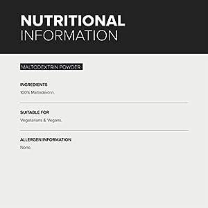 BULK POWDERS Pure Maltodextrin Complex Carbohydrate Powder, 2.5 kg