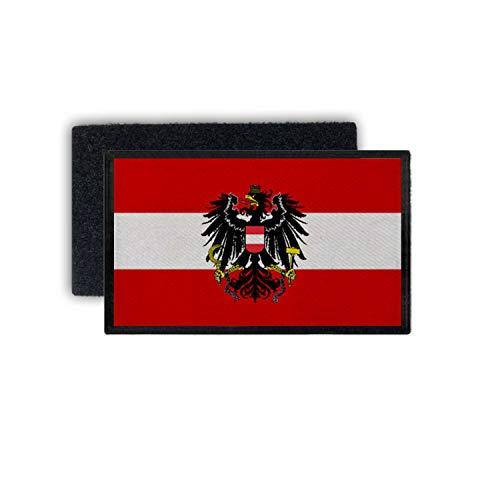Copytec Patch7,5x4,5 Österreich BH Fahne Bundesheer Adler Wien Flagge Abzeichen #34618