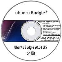 "Ubuntu Budgie 20.04 LTS ""Focal Fossa"" (64Bit) - Bootable Linux Installation DVD"
