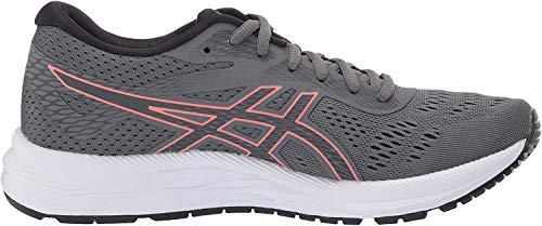 ASICS Women's Gel-Excite 6 Running Shoes, 8M, Steel Grey/Papaya