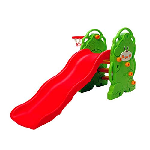 Primer Tobogán Para Niños Diapositivas Para Niños Niños Para Niños Juegos De Juguete Playground Al Aire Libre Interior Escalada Paseo Divertido Jardín Tobogán ( Color : Verde , Size : 169x87x112cm )