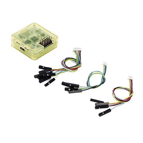 CC3D Controlador de Vuelo Open Pilot Procesador de 32 bits con Estuche Recto para QAV250 280 RD290 Mini Quadcopter Mutilcopter - Amarillo