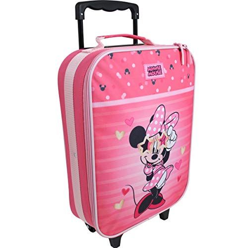 Disney Minnie Mouse Koffer Trolley Kinderkoffer Handgepäck Kindertrolley