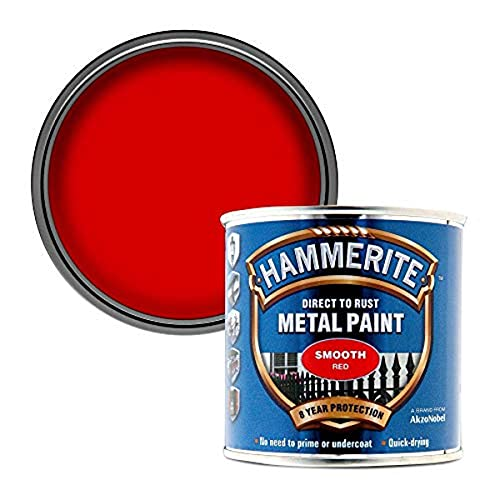 HAMRITE Peinture Hammerite pour métal - Lisse