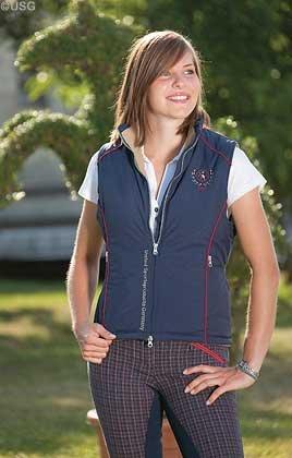 USG Damen Weste Sandy mit Außenmaterial 100% Polyamid Ripstop/Fleece gefüttert/Polyester gepolstert