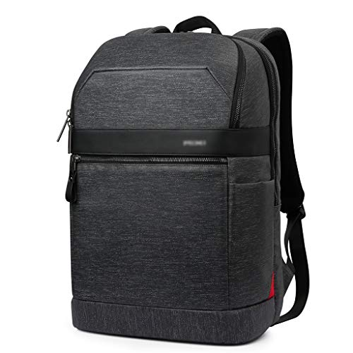 ブラックバックパック、出張ハンドバッグノート財布収納袋独立型ラップトップコンパートメント (Color : Black, Size : 29*14.5*44cm)
