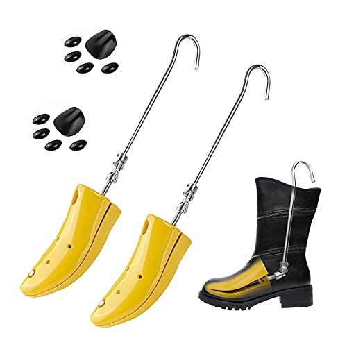 구두 들것 조정 가능한 부팅 INSTEPS EXPANDER 신발 나무 여성을위한 더 높은 INSTEP 남성 남녀 2 개