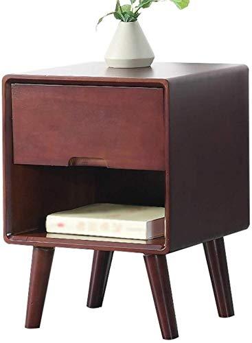 File cabinets Nachttisch Nachttisch Haushalt Montage Spind Einzel-Pumping Dicke Bodenstehende Aufbewahrungsbox Schlafzimmer Arbeitszimmer 40 x 35 x 54 cm Beistelltisch (Farbe: Honig-Farbe, Größe: B)