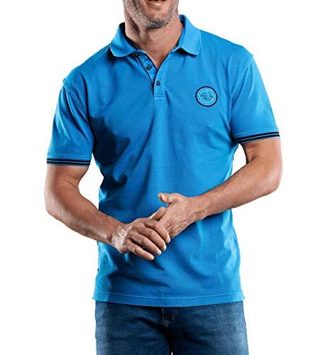 engbers Herren Sommerliches Poloshirt, 29236, Türkis in Größe S