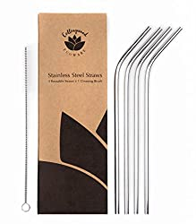 Stainless Steel Straws - The eco friendly, reusable option