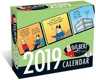 2019 DILBERT 365 Page-A-day Daily Box/Desk Calendar