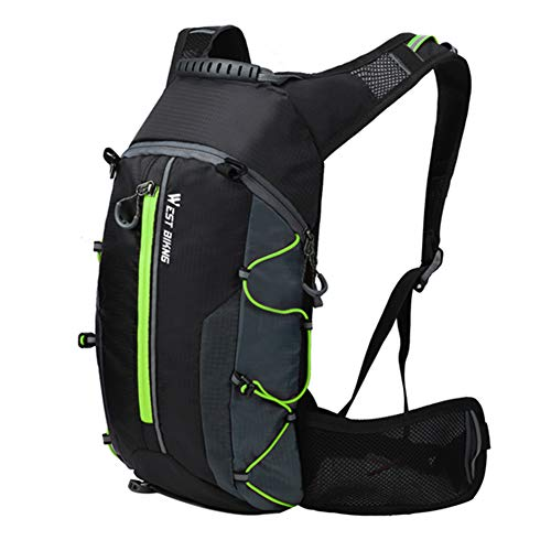 belupai Waterproof Bicycle Bag Cycling Mountaineer Backpack Breathable 10L Ultralight Bike Water Bag Climbing Cycling Hydration Backpack For Outdoor