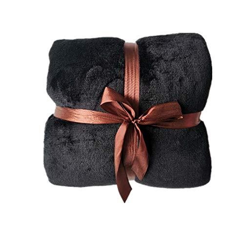 DALIANMAO Warme Dicke TV Pocket Mit Kapuze Decke Winter Sofa gewichtete Decken Flanell Coral Fleece Unisex Riesentasche für Betten Reisen nach Hause (Color : Blank)