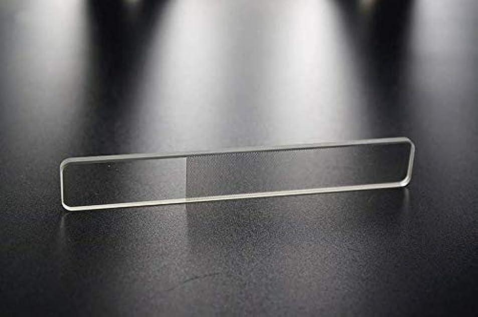 手書きハントフェザー爪やすり 爪磨き ガラス製 ネイルシャイナ つめみがき ネイルケア ナノ技術が生んだ全く新しい つめやすり (爪)