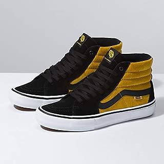 [(バンズ)Vans] ユニセックス靴・スニーカー・スケートハイ SK8-Hi PRO コーディロイ Black/Yellow M:9.5, W:11 (メンズ27.5cm, レディース28cm) [並行輸入品]