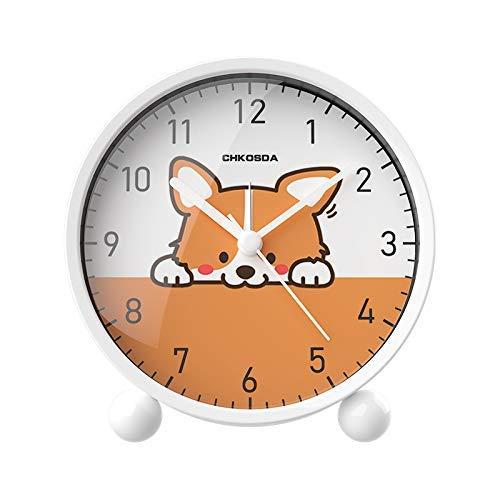 Mute Student dier kleine Leuke wekker For Kids slaapkamer en Studie Creative elektronische klok
