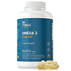 Omega 3 fish oil supplement
