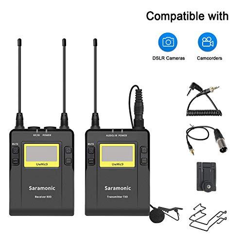 Saramonic Uwmic9-TX9+ RX9–Sistema di microfono a...