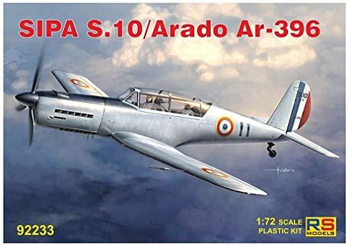 RSモデル 1/72 フランス空軍 SIPA S.10 / アラド Ar396 プラモデル 92233