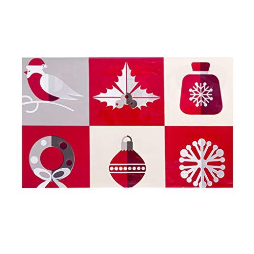 Disposable Merry Christmas Rectangular Printed PVC Cartoon Tablecloth 110180cm Home & Garden Kitchen,Dining & Bar