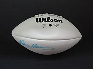 Signed Franco Harris Football - X84074 - PSA/DNA Certified - Autographed Footballs