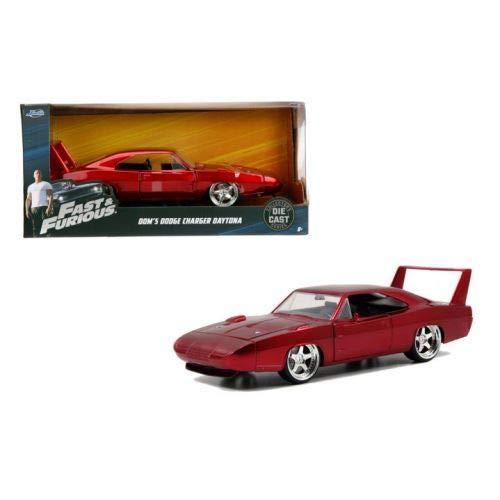 Hollywood Rides - Fast & Furious: Dodge Charger Daytona del 1969 de Dom Toretto (escala 1:24)