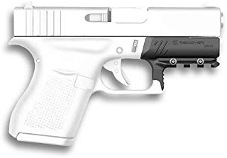 Recover Tactical GR43 Picatinny Rail for The Glock 43, 43X, 48- Easy Installation, No Modifications Required to Your Firearm, no Need for a Gunsmith. Installs in Under 3 Minutes