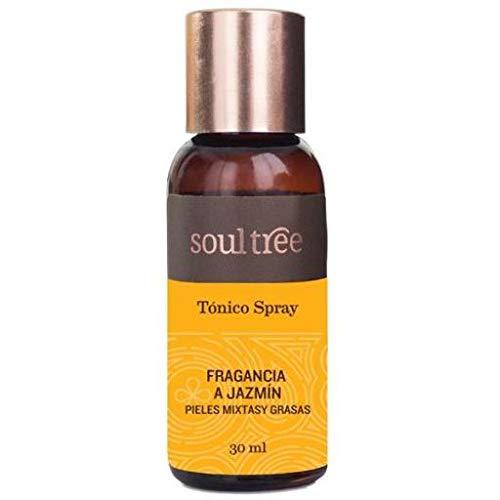 Soultree Tonic Visage Jazmin Peaux Mixtes et Grasses 30 ml 130 ml