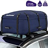 HandiHoldall Large Vehicle Roof Bag / Top Box (Navy Blue) – 330L Weather Resistant Cargo Carrier