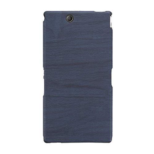 Sony Xperia Z Ultra XL39H Custodia in pelle morbida TPU resistente ai graffi, antiurto in gomma di silicone di lusso per Sony Xperia Z Ultra XL39H, colore: blu