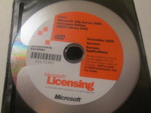 SQL SVR ENTPR 2005