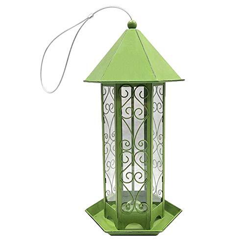 Bird Feeder, Huisdier Feeder, Opknoping Vogel Feeder, Grote Capaciteit Eten Distributeur Container Voor Huis Outdoor Garden