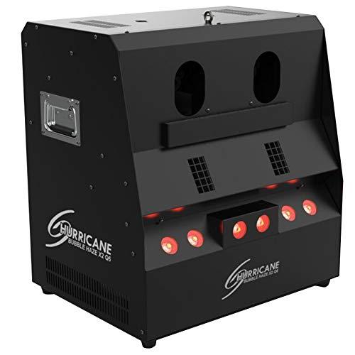 Chauvet DJ Hurricane Bubble Haze X2 Q6 emits Bubbles, Haze or Haze-Filled Bubbles