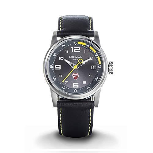 Locman Watch Ducati Stainless Steel CASE 42 mm