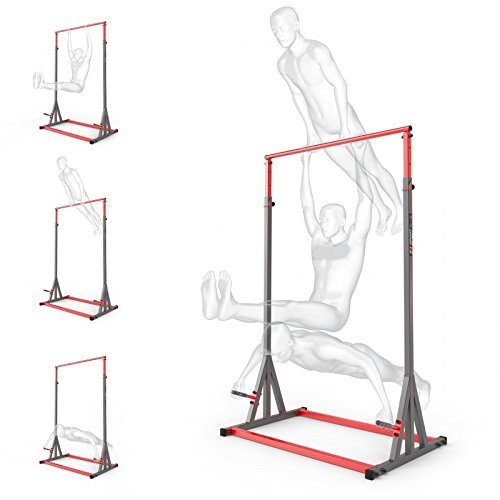 Barra per trazioni 280kg per rinforzare la schiena, allenamento sportivo, attrezzo per esercizi sport, nuovo, barra alta per trazioni