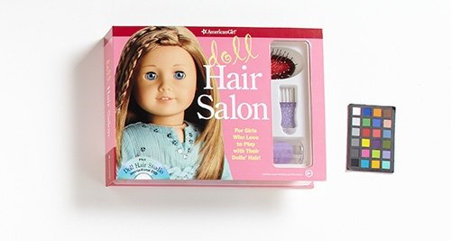 Doll Hair Salon [With Spray Bottle and DVD and Hair Brush and Pick]