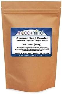 Guarana seed powder (Paullinia cupana) Brazil 1LB