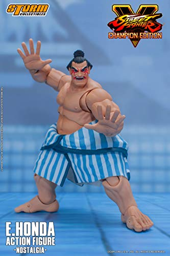 Storm Collectibles - Street Fighter V - E. Honda (Nostalgia Costume),Storm Collectibles 1/12 Action Figure