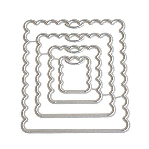 JiaMeng Troqueles Scrapbooking, Troqueles de Corte de Metal
