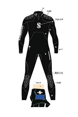 Scubapro Men's EverFlex Steamer 7mm Wetsuit