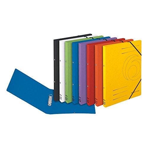 8x Ringhefter / Ringbuch / A4 / Colorspan-Karton / 8 verschiedene Farben
